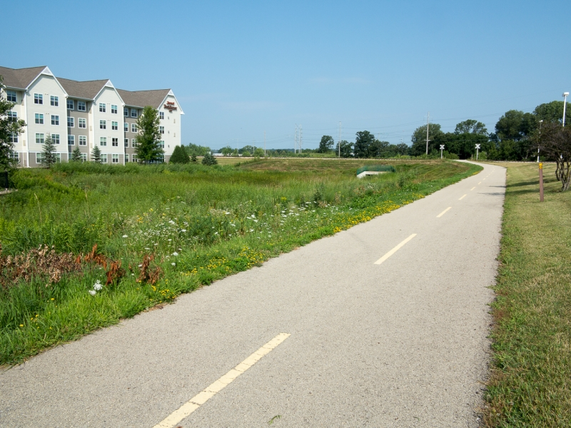 Adjacent Bike Path
