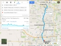 Map of the Fox River Ride (Theoretical)
