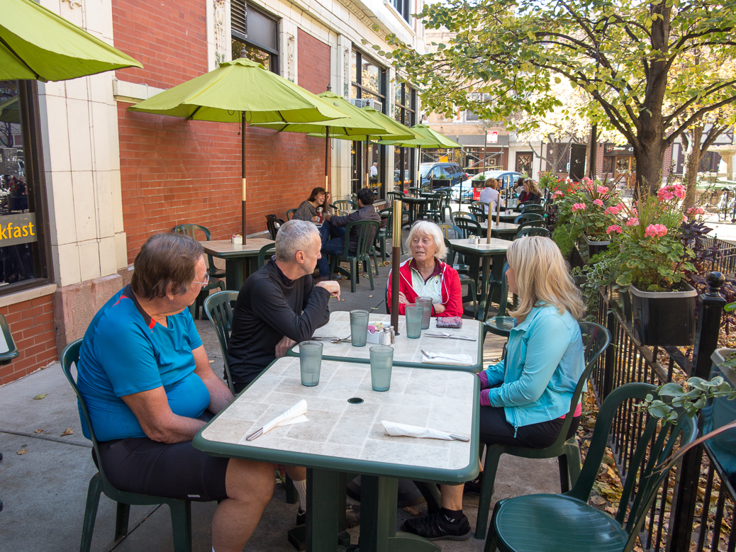 Eating in Lincoln Square