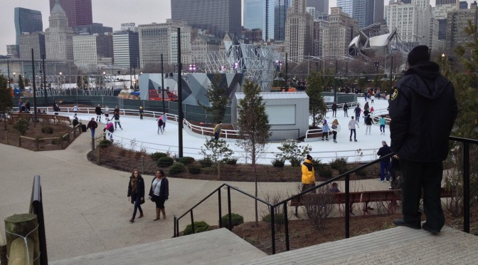 Maggie Daley Rink Opens